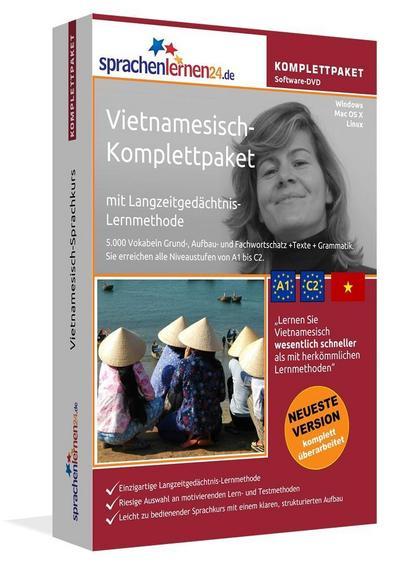 Sprachenlernen24.de Vietnamesisch-Komplettpaket (Sprachkurs)