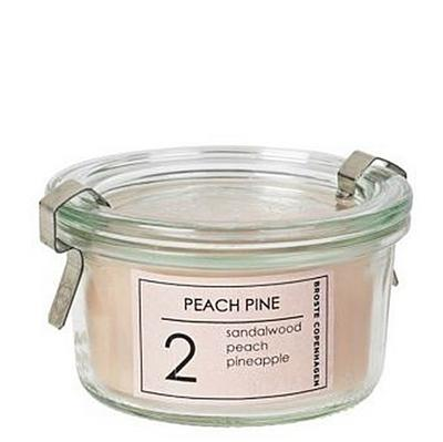 Duftkerze PEACH PINE im Weck-Glas - Broste Copenhagen - Broste Copenhagen - , Deutsch, , ,