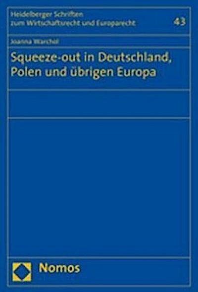Squeeze-out in Deutschland, Polen und übrigen Europa