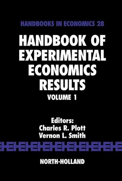 Handbook of Experimental Economics Results, Volume 1