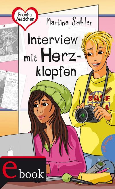 Freche Mädchen - freche Bücher!: Interview mit Herzklopfen