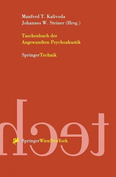 Taschenbuch der Angewandten Psychoakustik