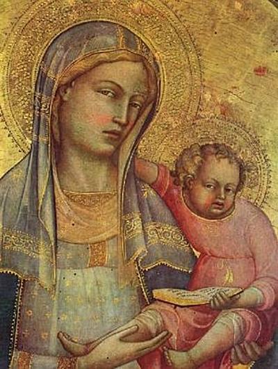 Don Lorenzo Monaco - Madonna, Detail - 200 Teile (Puzzle)