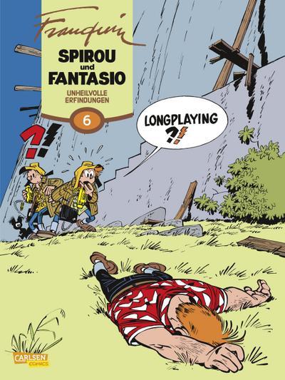 Spirou & Fantasio Gesamtausgabe 06. Unheilvolle Erfindungen