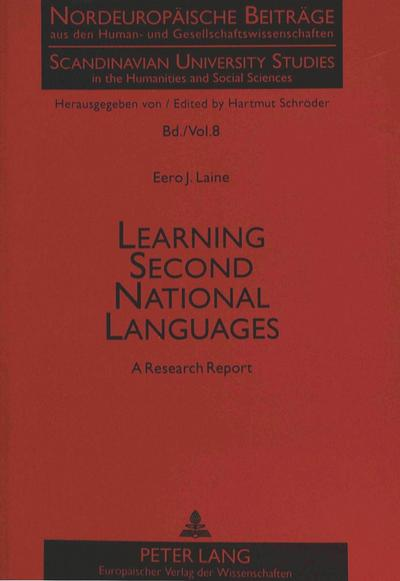Learning Second National Languages