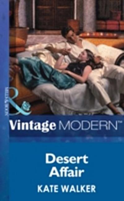 Desert Affair (Mills & Boon Modern)