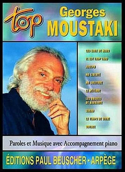 Top Georges Moustaki : paroles etmusique avec accompagnement piano