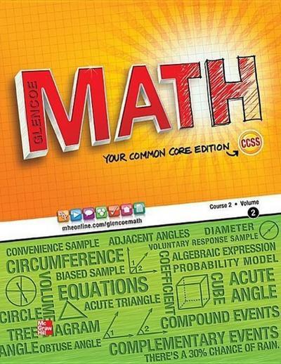 Glencoe Math, Course 2, Student Edition, Volume 2