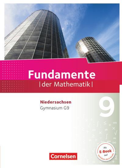 Fundamente der Mathematik 9. Schuljahr - Gymnasium Niedersachsen - Schülerbuch