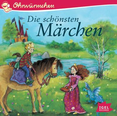 Ohrwürmchen. Die schönsten Märchen - Igel Records - Audio CD, Deutsch, Eleni Livanios, ,
