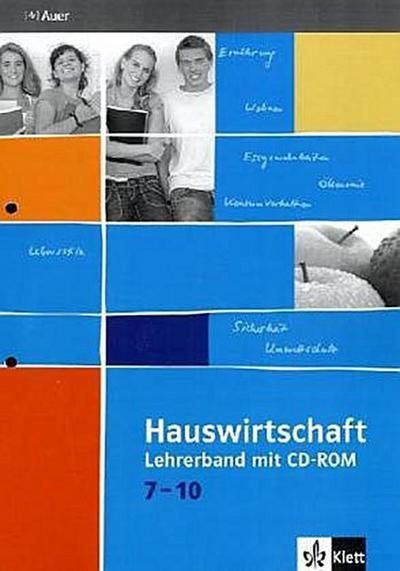 Hauswirtschaft in Bildern / Lehrerband mit CD-ROM