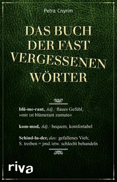 Das Buch der fast vergessenen Wörter