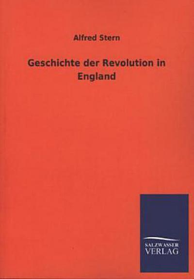 Geschichte der Revolution in England