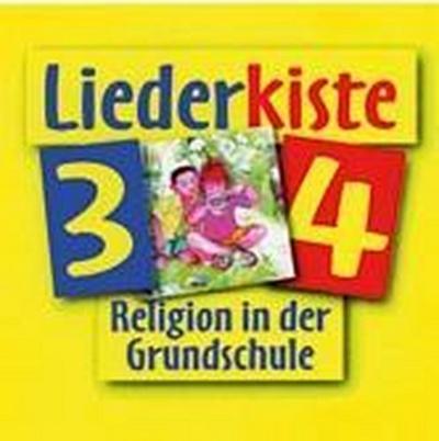 fragen - suchen - entdecken. Religion in der Grundschule. Liederkiste 3/4. Ausgabe für Bayern und Nordrhein-Westfalen