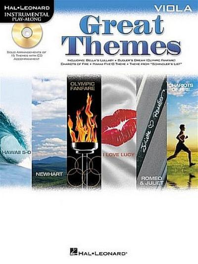 Great Themes: Viola [With CD (Audio)]