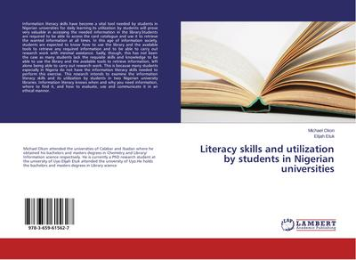 Literacy skills and utilization by students in Nigerian universities