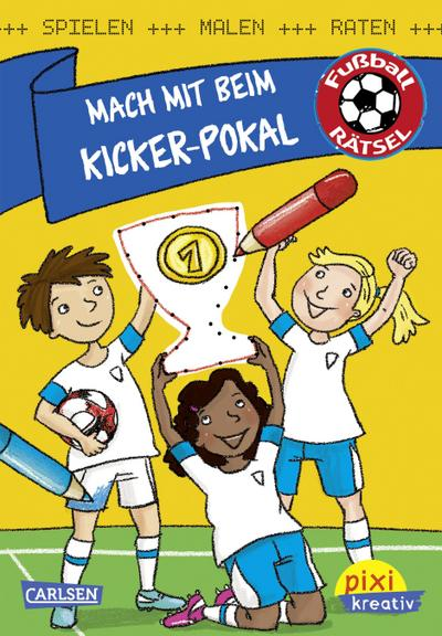 Mach mit beim Kickerpokal: Spielen, malen, raten wie die Weltmeister!