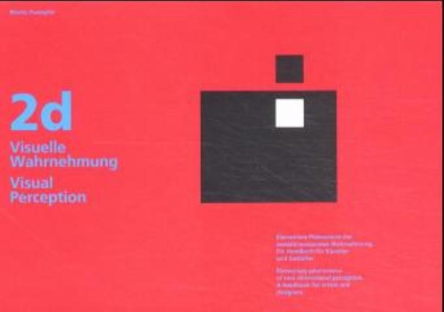 Visuelle Wahrnehmung im zweidimensionalen Bereich, Moritz Zwimpfer