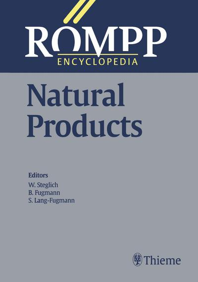 RÖMPP Encyclopedia Natural Products, 1st Edition, 2000
