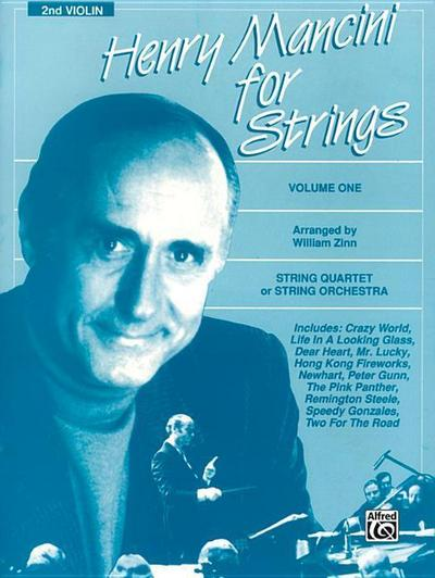 Henry Mancini for Strings, Vol 1: 2nd Violin