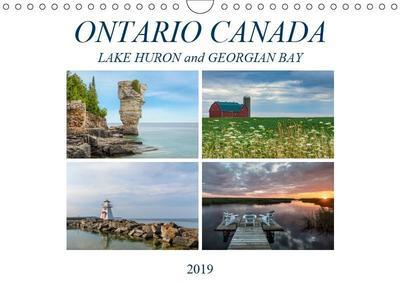 Ontario Canada, Lake Huron and Georgian Bay (Wall Calendar 2019 DIN A4 Landscape)