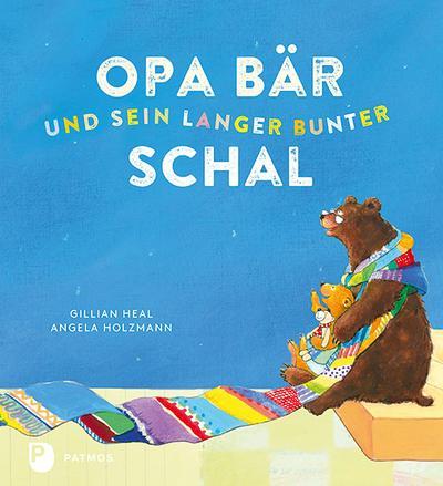 Opa Bär und sein langer bunter Schal