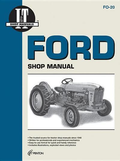Ford Shop Manual Series 501 600 601 700 701 +
