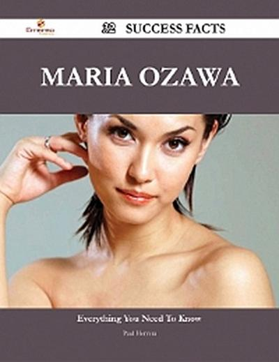 Maria Ozawa 32 Success Facts - Everything you need to know about Maria Ozawa