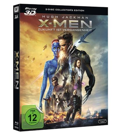 X-Men  Zukunft ist Vergangenheit (3D Blu-Ray)