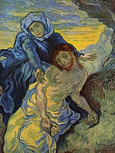 Vincent Willem van Gogh - Pieta (nach Delacroix) - 200 Teile (Puzzle)