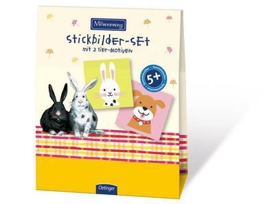 Möwenweg Stickbilder-Set: mit 2 Tier-Motiven