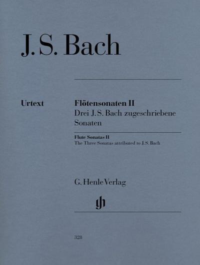 Flötensonaten, Band II (Drei J. S. Bach zugeschriebene Sonaten)