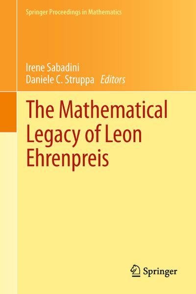 The Mathematical Legacy of Leon Ehrenpreis