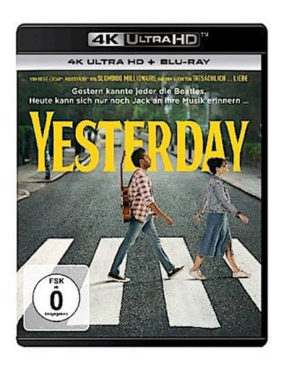 Yesterday 4K, 2 UHD-Blu-ray