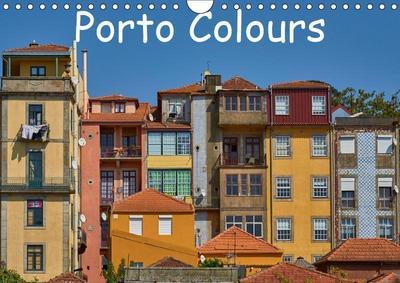 Porto Colours (Wall Calendar 2019 DIN A4 Landscape)