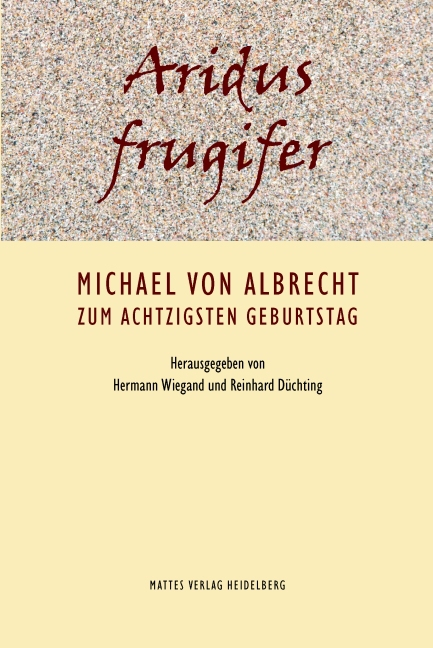 Aridus frugifer Hermann Wiegand