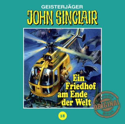 John Sinclair Tonstudio Braun - Folge 18; Ein Friedhof am Ende der Welt. Teil 2 von 3.; John Sinclair Tonstudio Braun; Deutsch; Spieldauer 58 Min, 20 Tracks