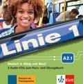 Linie 1 A2.1. 2 Audio-CDs zum Kurs- und Übungsbuch