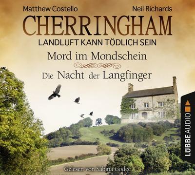 Cherringham - Folge 3 & 4: Landluft kann tödlich sein. Mord im Mondschein und Die Nacht der Langfinger. (Ein Fall für Jack und Sarah)