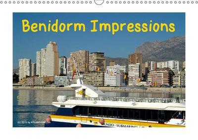 Benidorm Impressions (Wall Calendar 2019 DIN A3 Landscape)