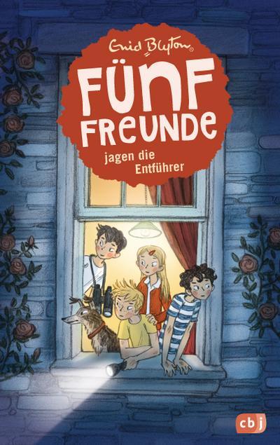 Fünf Freunde jagen die Entführer; Einzelbände; Ill. v. Raidt, Gerda; Übers. v. Winkler-Hoffmann, Ilse; Deutsch; Mit s/w Illustrationen, 56 Illustr.