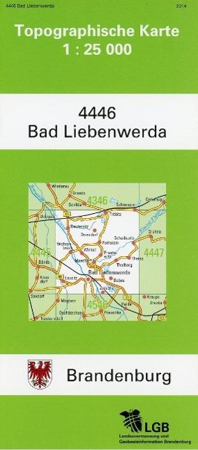 Bad Liebenwerda 1 : 25 000,