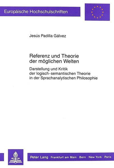 Referenz und Theorie der möglichen Welten