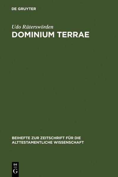 dominium terrae