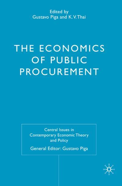 The Economics of Public Procurement