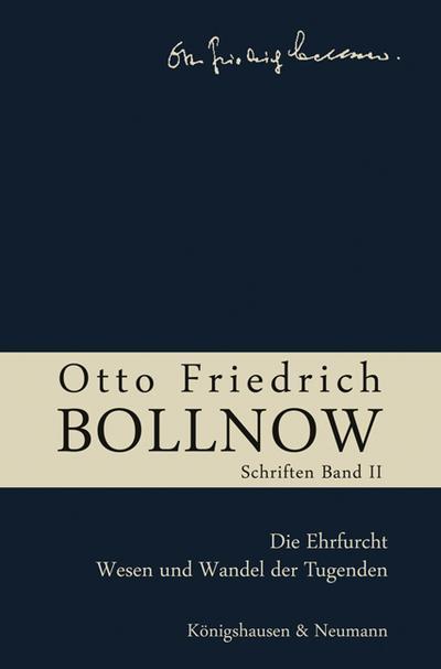 Otto Friedrich Bollnow: Schriften