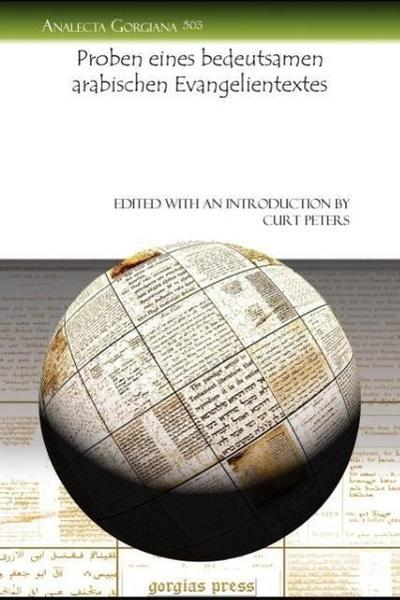 Proben Eines Bedeutsamen Arabischen Evangelientextes