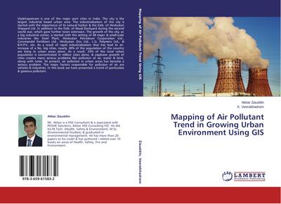 Mapping of Air Pollutant Trend in Growing Urban Environment Using GIS