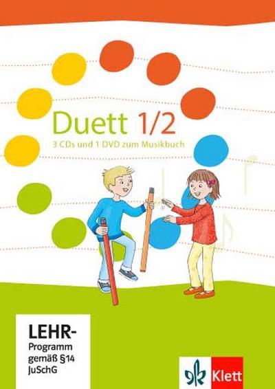 Duett. 3 Audio-CDs und 1 DVD. 1./2. Schuljahr. Ausgabe 2017