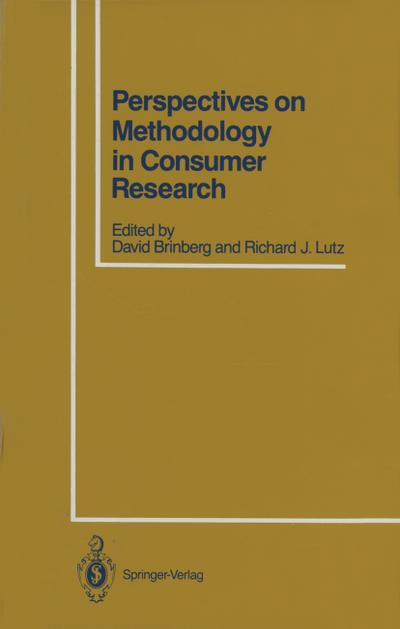 Perspectives on Methodology in Consumer Research